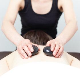 hot stone thermal massage