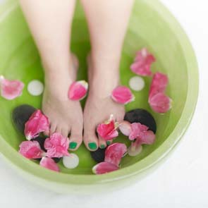Tips to soothe your tired feet