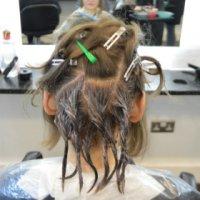 Sanita hair dying 6