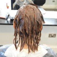 Sanita hair dying 8