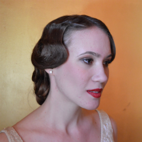 Leading up to our 1920s shoot