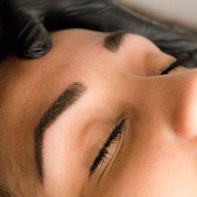 Microblading Eyebrows Semi Permanent N16 London Beauty Makeup Thinning