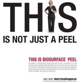 The BioSurface Peel by Dermalogica is here
