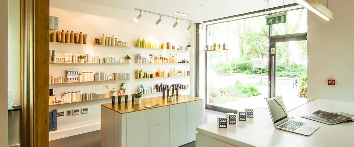 Shine hair, health and beauty salons in Stoke Newington, North London,