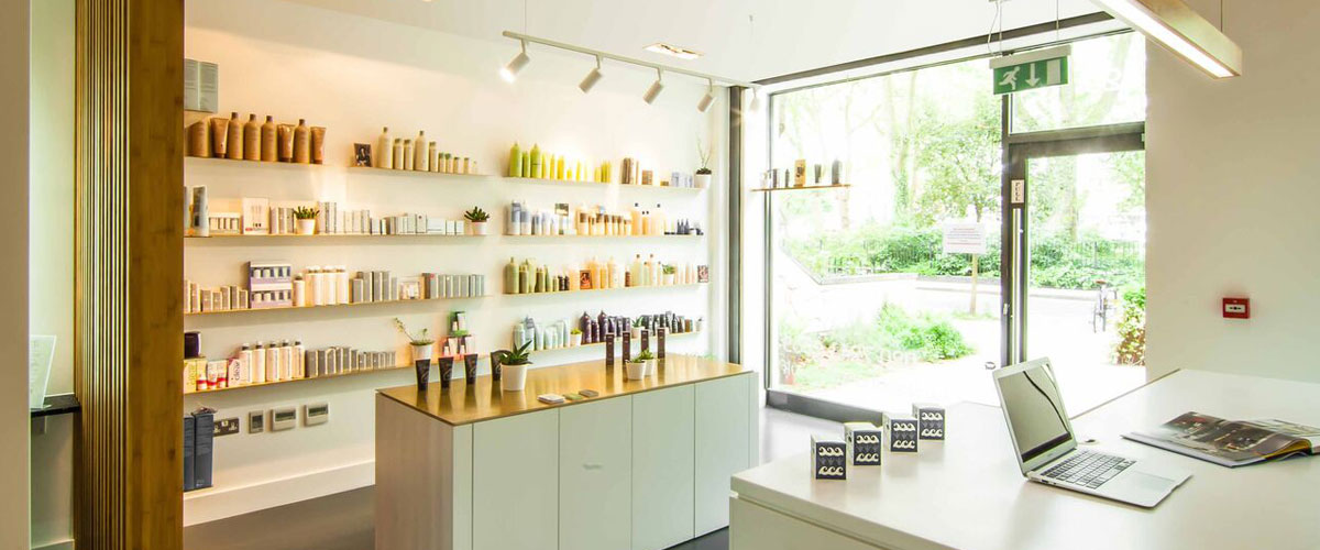 Shine hair, health and beauty salons in Stoke Newington, North London,