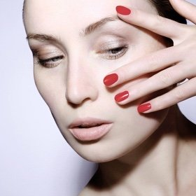 SH Beauty Red Nails