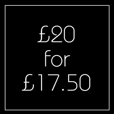 Black Friday £20 Voucher - Newington Green