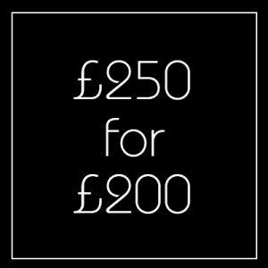 Black Friday £250 Voucher - Newington Green