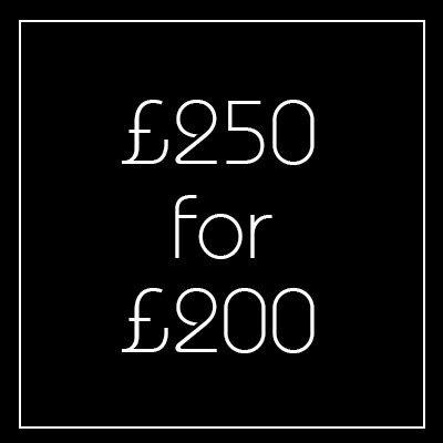 Black Friday £250 Voucher - Newington Green
