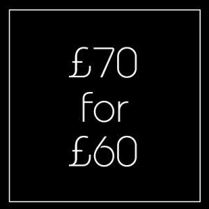 Black Friday £70 Voucher - Newington Green