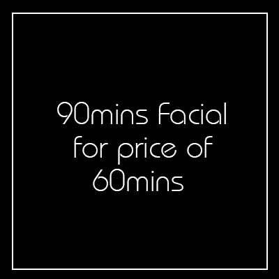 90 minutes Comfort Zone Customised Facial for the price of 1 Hour - Church Street