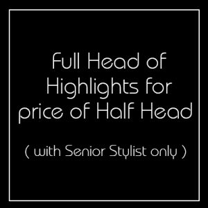 Full Head Highlights for the Price of a Half Head - Church Street