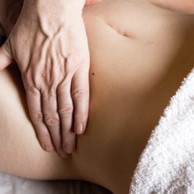 belly balance c section scar tissue digestive health IBS constipation bloating stoke newington N16
