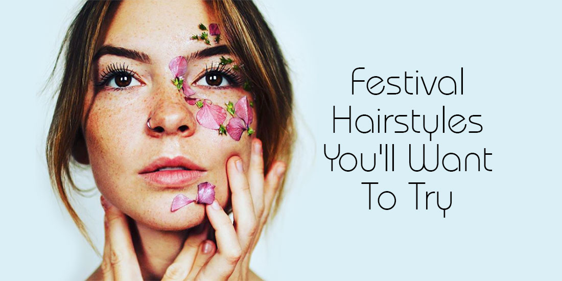 Festival Hairstyles Youll Want To Try from Shine Hair Salons in Stoke Newington, North London