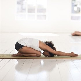 SH Health Yoga Childs pose