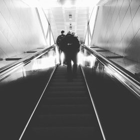 SH Health escalator stairs