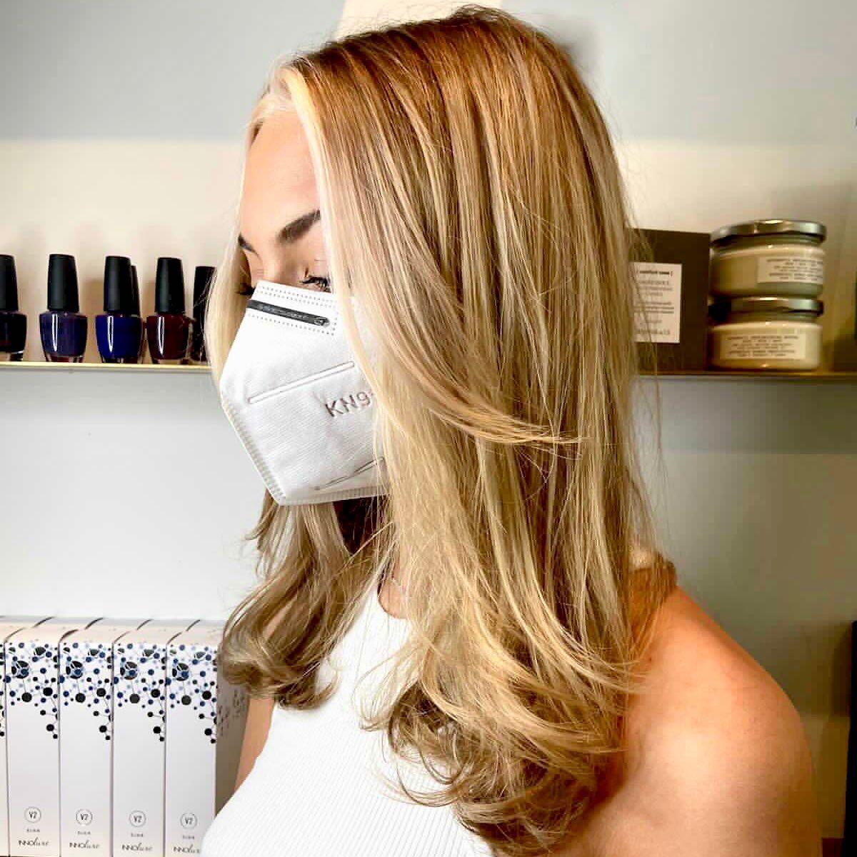 Blonde highlights Stoke Newington Hairdressers